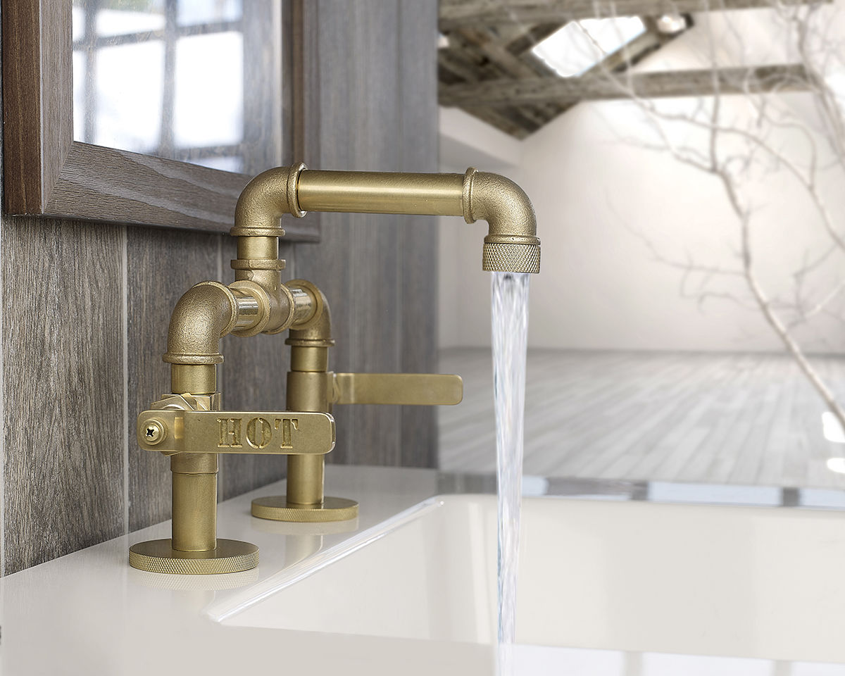 industrial bathroom sink faucet