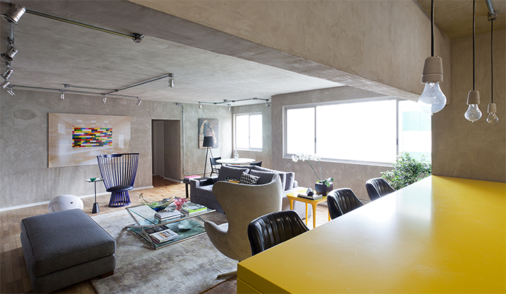 decoracao de sala unica:DECORAÇÃO INDUSTRIAL #2: SALA DE ESTAR E TV – Decor & Home Organizer