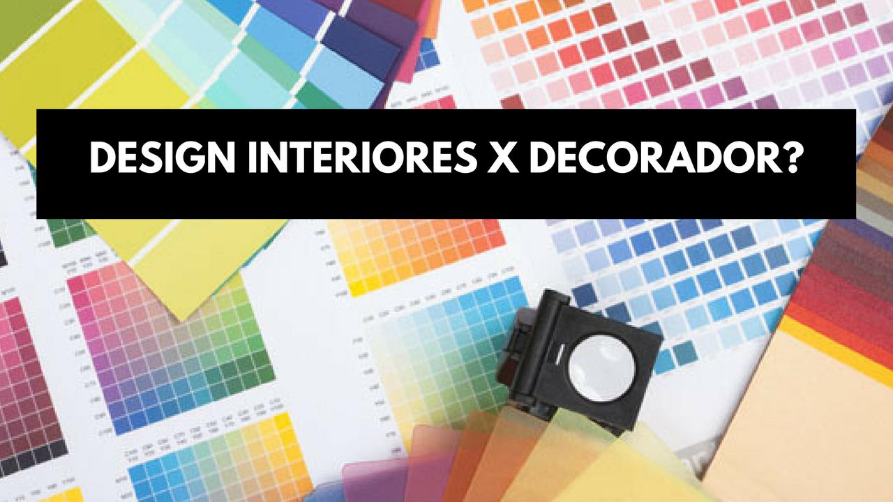 Existe diferen a entre designer de interiores e um for Decorador interiores