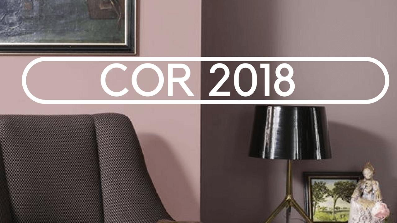 A COR DE 2018 ADORNO RUPESTRE O CINZA ROSADO QUE TODO